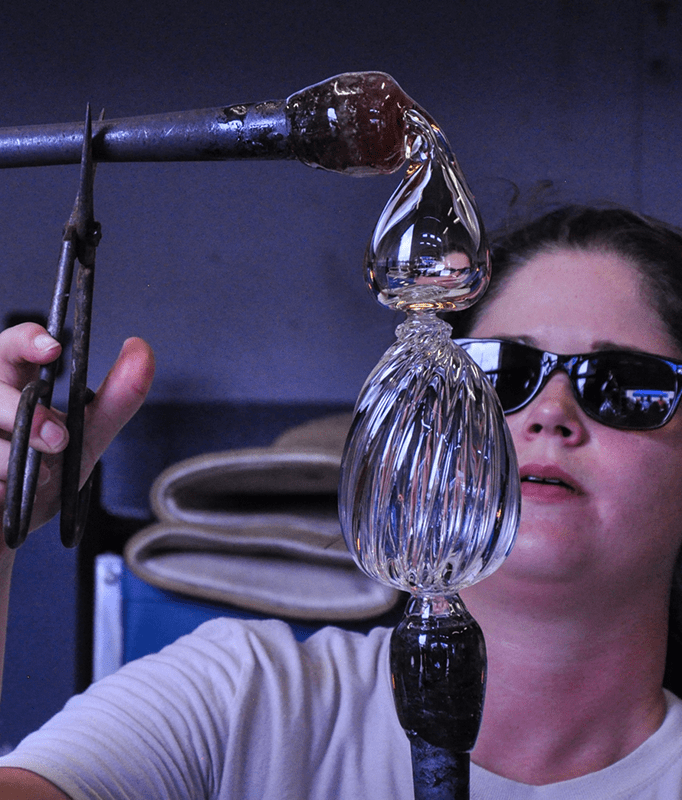 classes for glass blowers